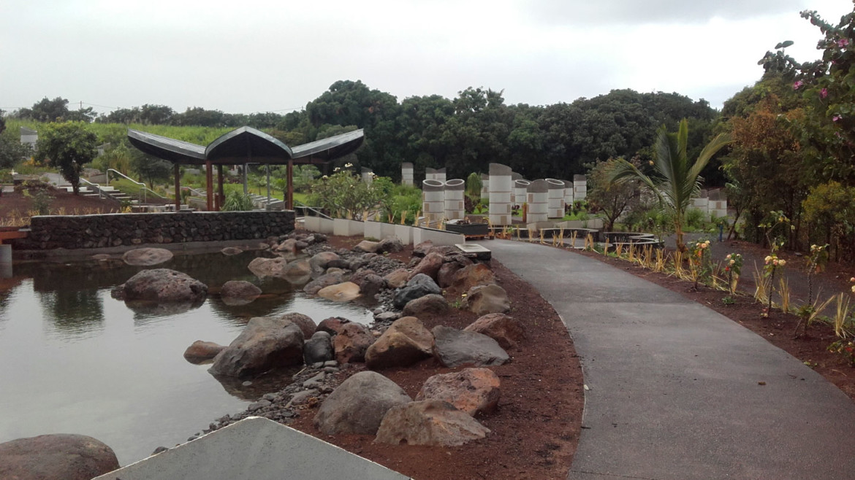 Extension du parc cinéraire